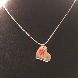 Jewelry - Stainless Steel Chain w/ hearts